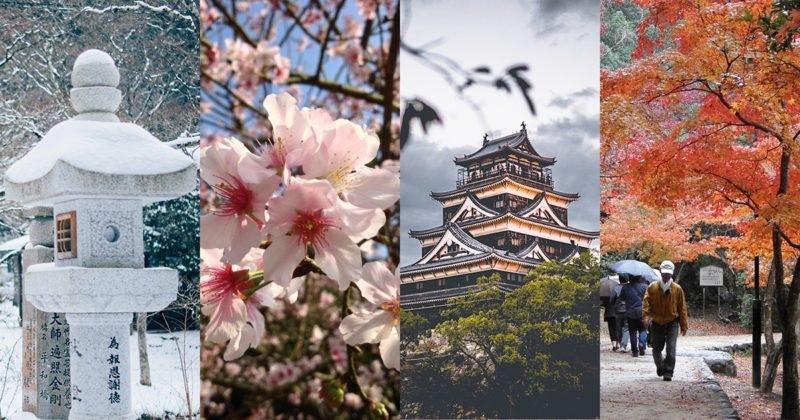 Khung cảnh 4 mùa ở Nhật