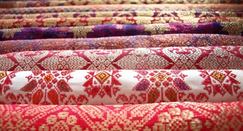 Các loại vải truyền thống của Malaysia