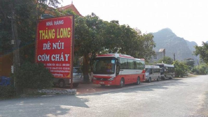 Nhà hàng Thăng Long chuyên các món đặc sản Ninh Bình