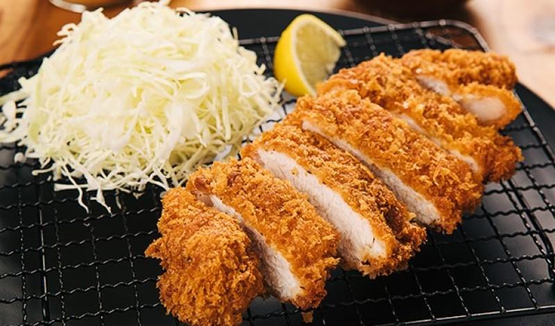 Món thịt lợn cốt lết chiên xù Tonkatsu