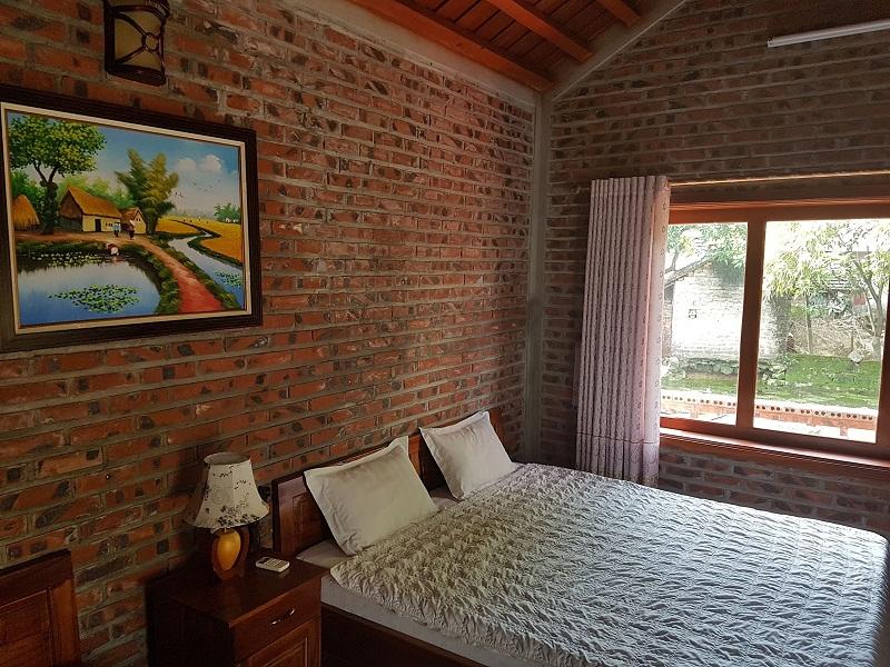 Không gian phòng nghỉ tại Nguyen Shack Homestay Ninh Bình