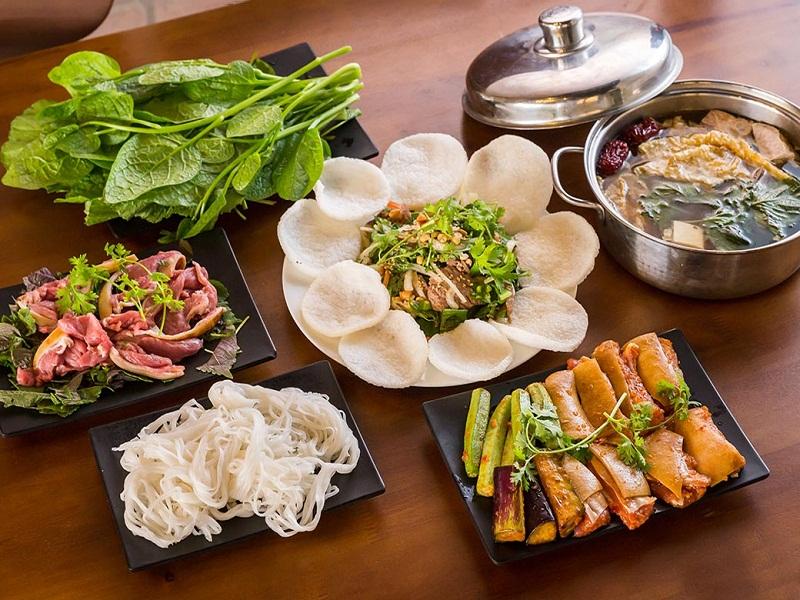 Các món đặc sản Ninh Bình của nhà hàng Hương Mai