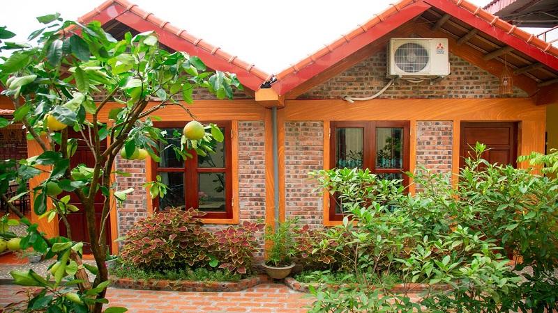 Những căn bungalow tại Riverside homestay Ninh Bình