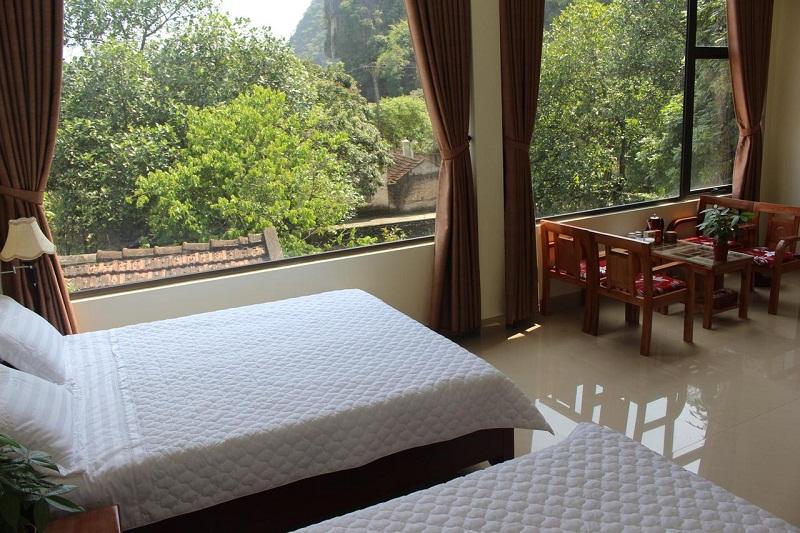 Sierra homestay Ninh Bình có đầy đủ tiện nghi cần thiết