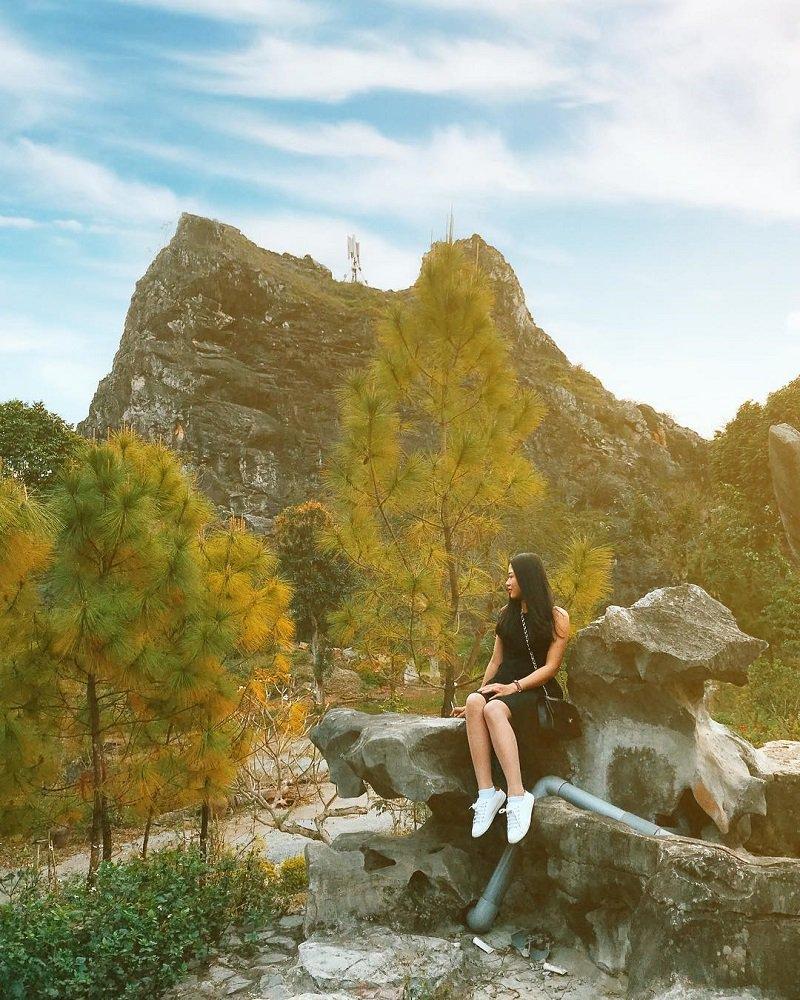 Điểm đón nắng đẹp của thung nắng Ninh Bình