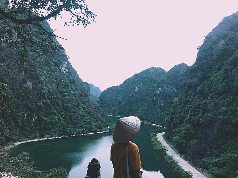 Tầm view đẹp của Tuyệt Tình Cốc Ninh Bình