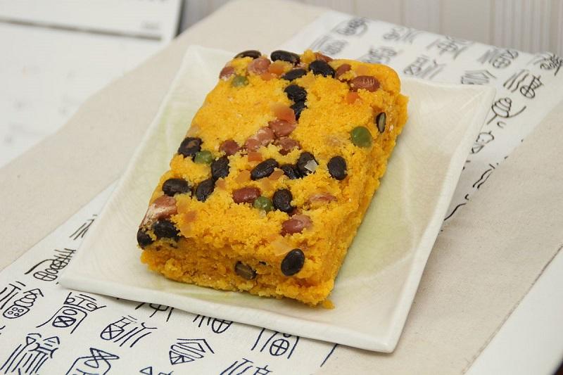 Bánh bí đỏ Hobak Tteok