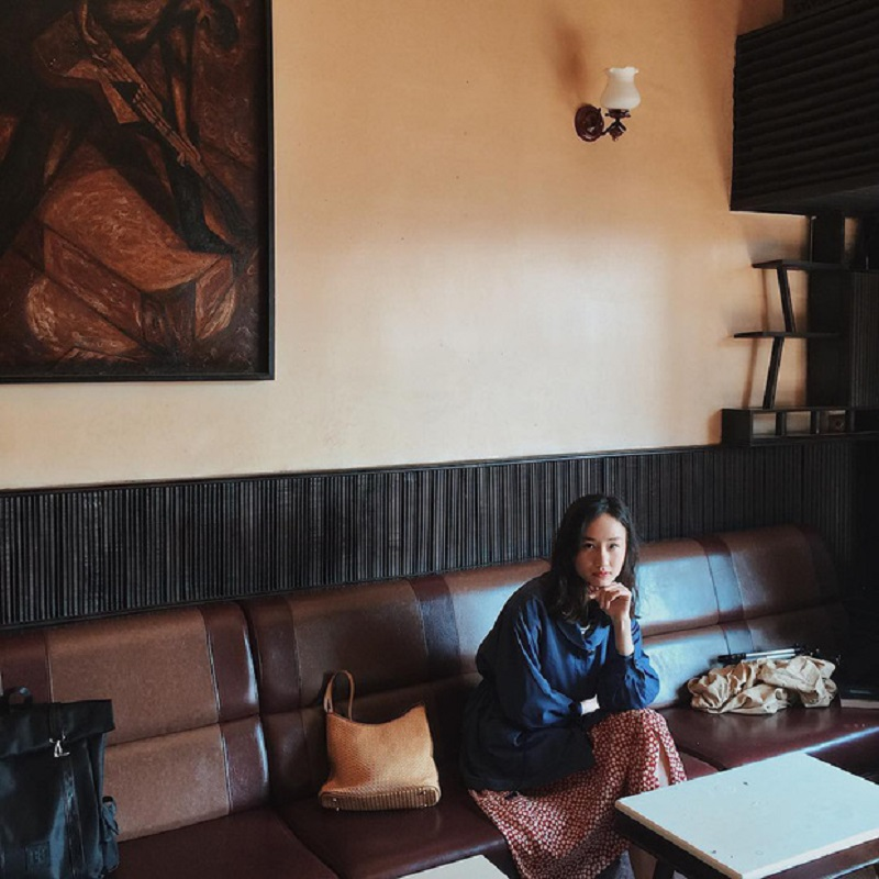 Không gian cổ điển, sang trọng của cà phê Tùng Đà Lạt