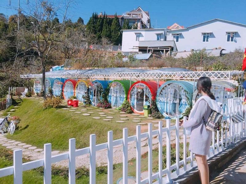 Nhà nghỉ Ống Cống Đà Lạt với thiết kế độc đáo