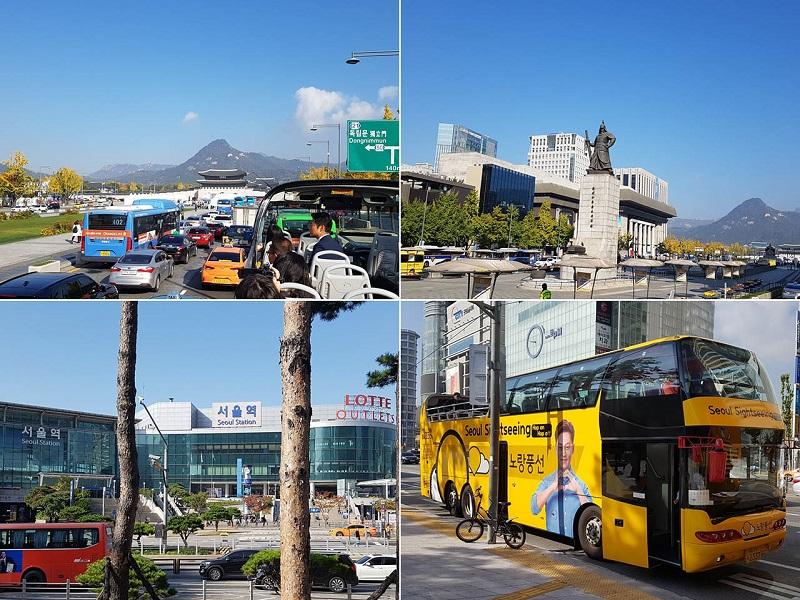 Những phương tiện di chuyển trong thành phố