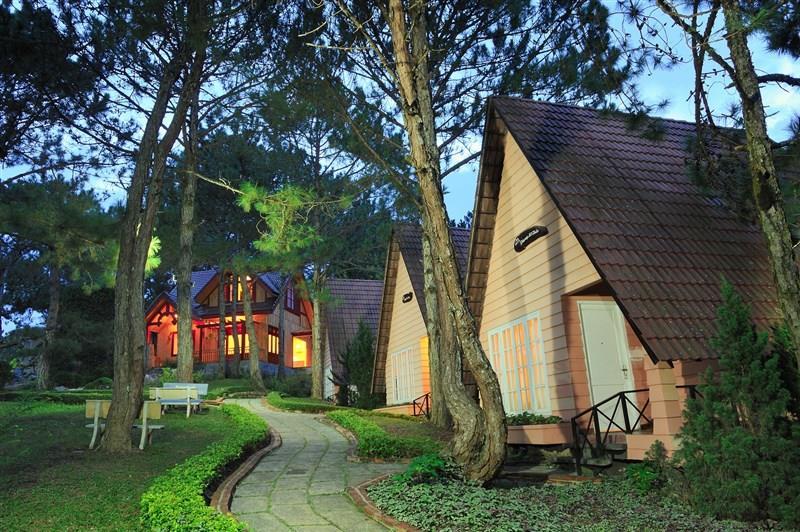 Các căn villa tại Dream Hill Resort Đà Lạt