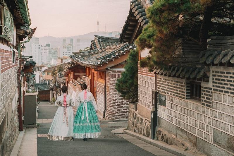 Làng Bukchon Hanok