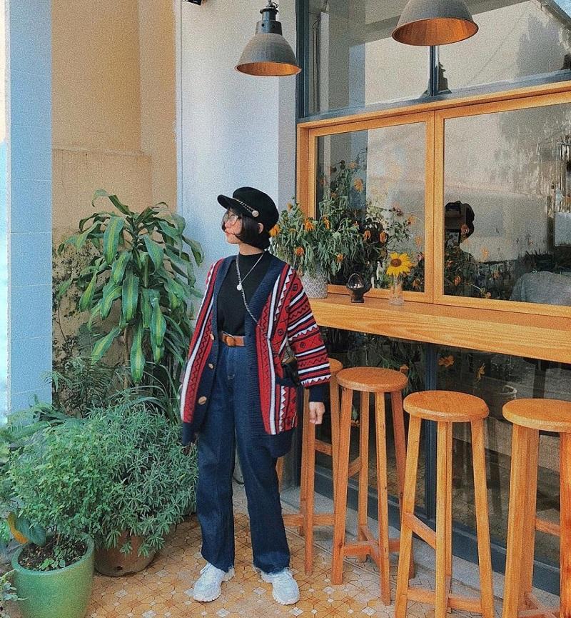 Không gian đậm chất vintage của La.Zero Cafe