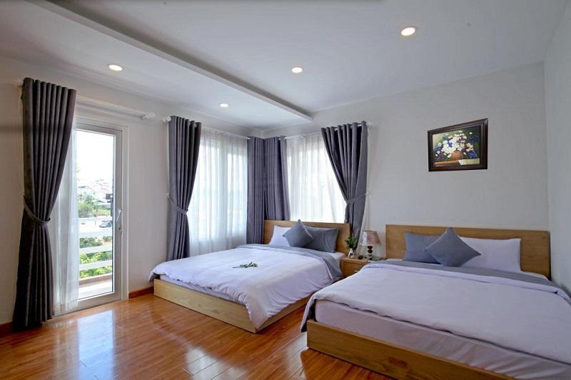 Phòng ở Magnolia được thiết kế đơn giản nhưng vẫn mang nét sự thoải mái, dễ chịu cho khách hàng.