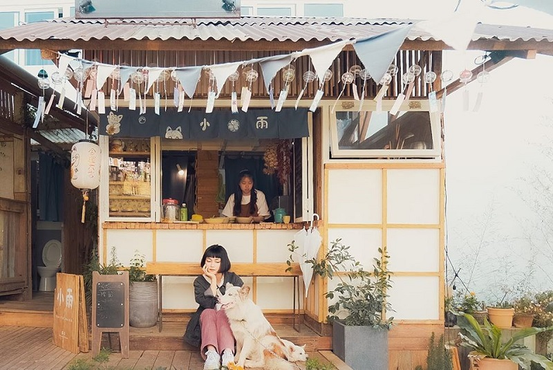 Không gian Still Cafe ở đâu cũng mang phong cách Nhật Bản