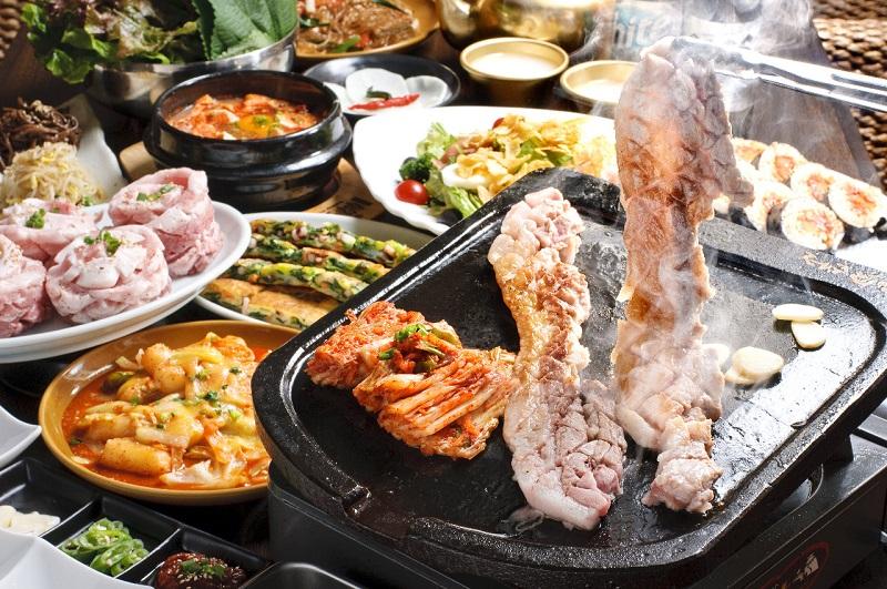 Món thịt nướng Hàn Quốc Samgyeopsal