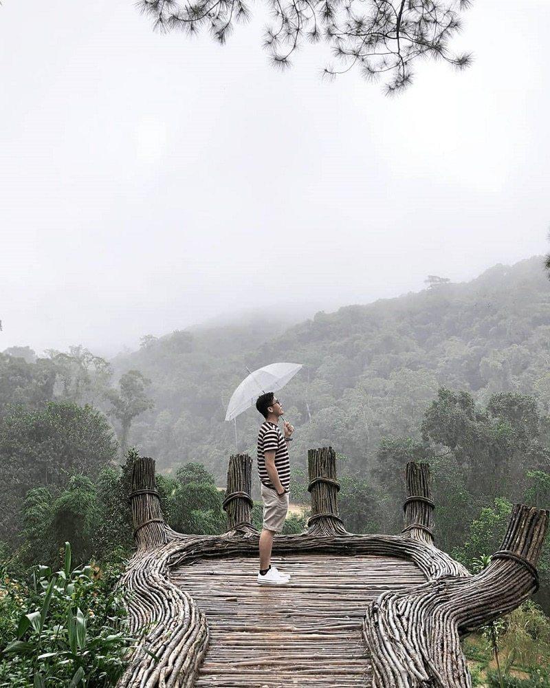 Check in Đà Lạt mùa mưa với tiết trời âm u