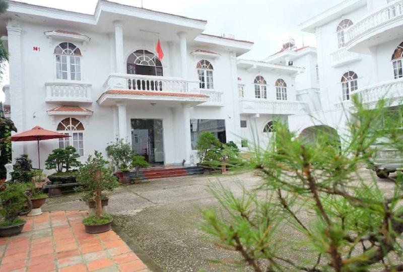 Villa T89 với màu trắng chủ đạo