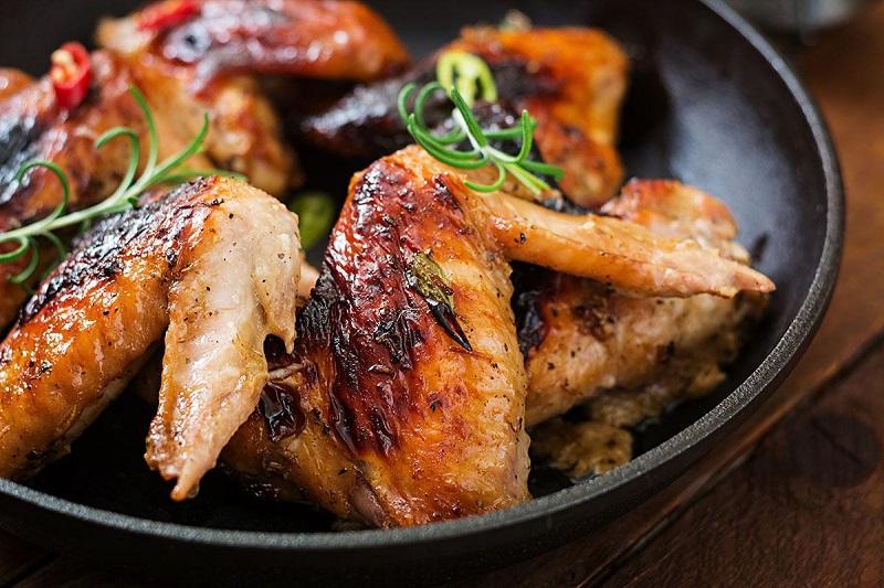 Cánh gà nướng ngũ vị thơm ngon