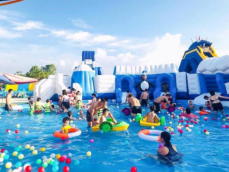 Công viên nước tại khu vui chơi Hà Đông Water Fun
