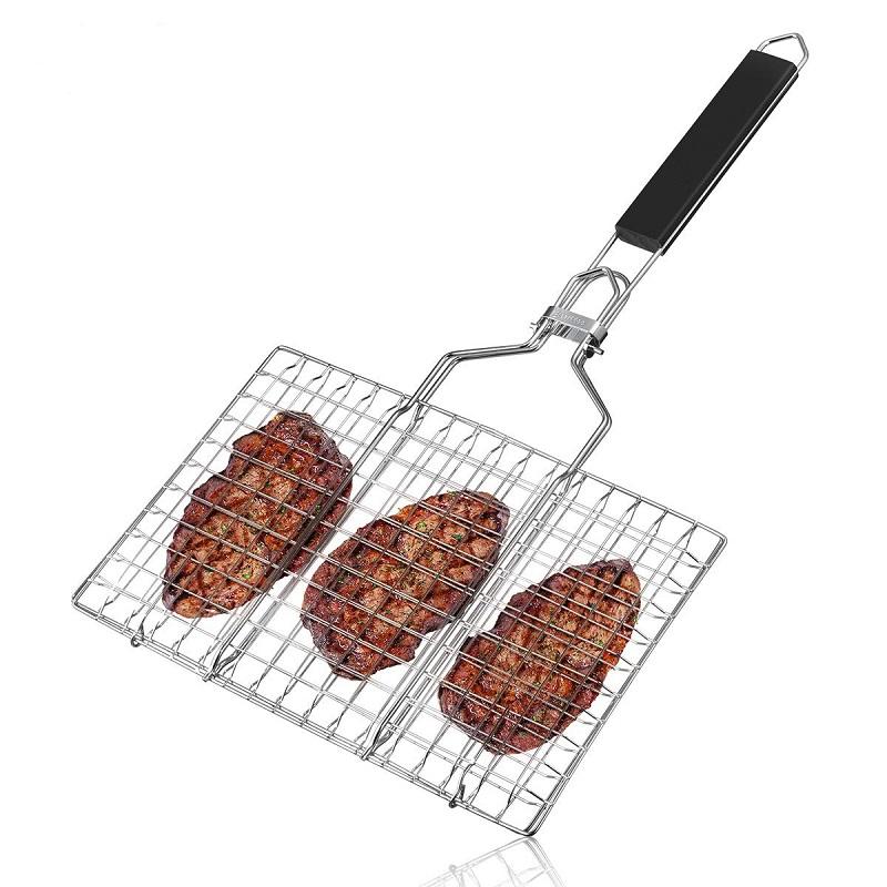 Vỉ nướng thịt được làm từ chất liệu inox