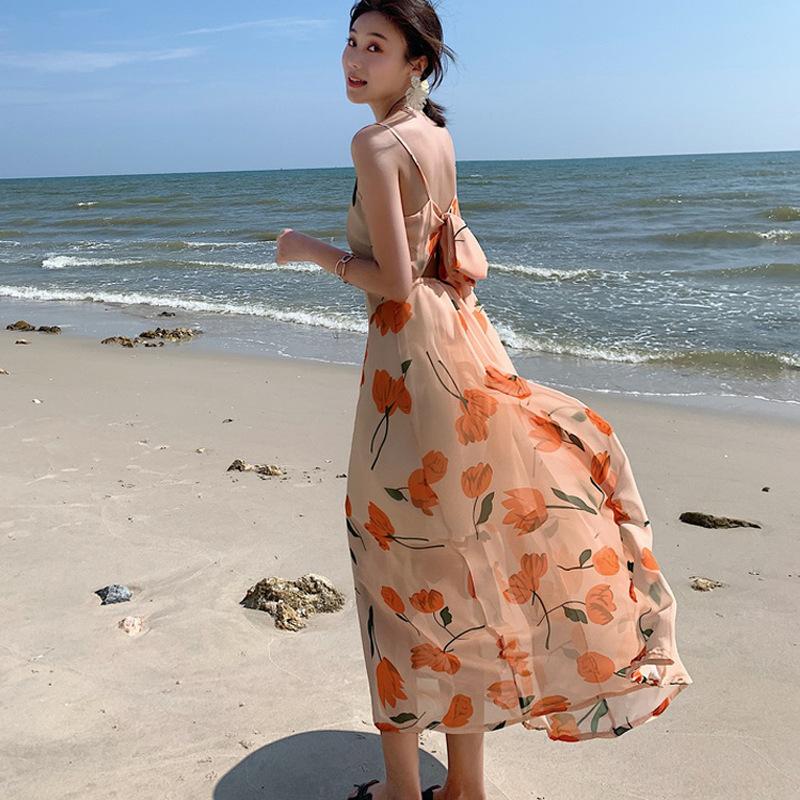 Chất liệu váy voan có thể giúp hạn chế tình trạng bị nhăn khi mặc