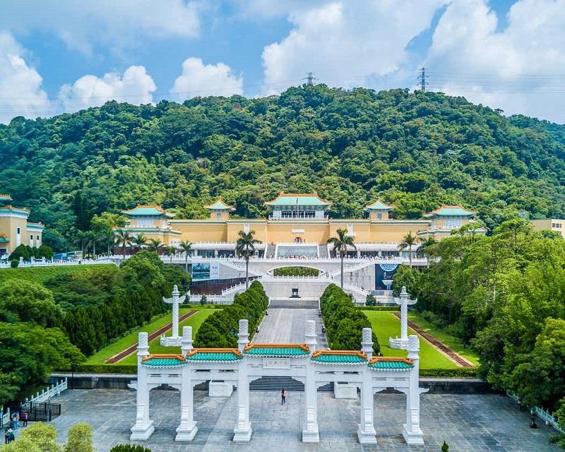Toàn cảnh bảo tàng cung điện quốc gia Đài Loan