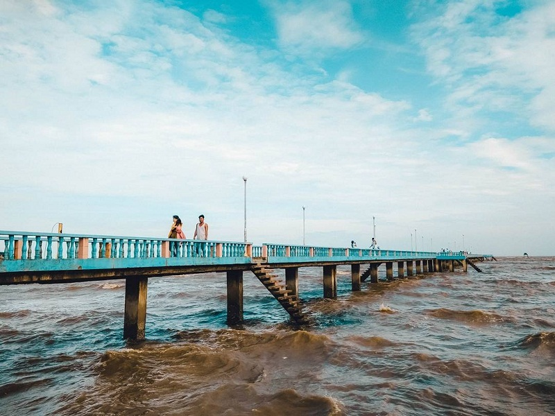 Cây cầu trên biển Tân Thành dài 300m