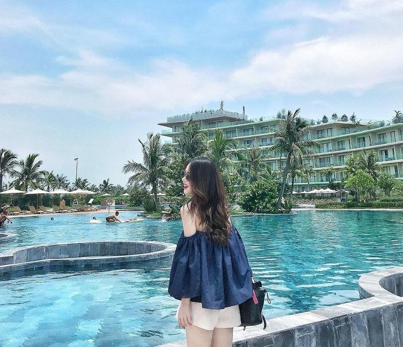 Hồ bơi độc đáo ở FLC Thanh Hóa