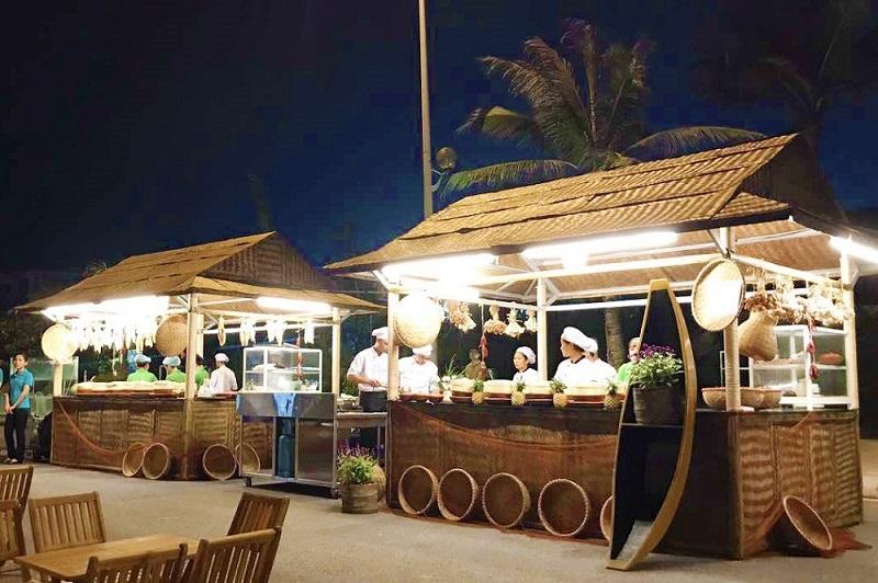 Khu chợ đêm ở khu A Sầm Sơn
