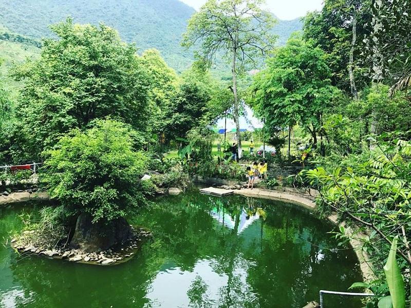 Không gian xanh thơ mộng ở Sơn Tinh Camp 2