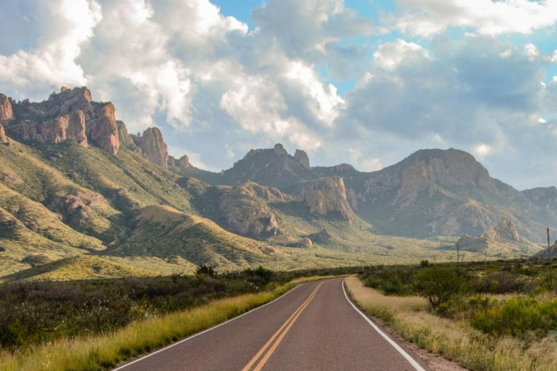 Cung đường lộ tại Texas Mỹ
