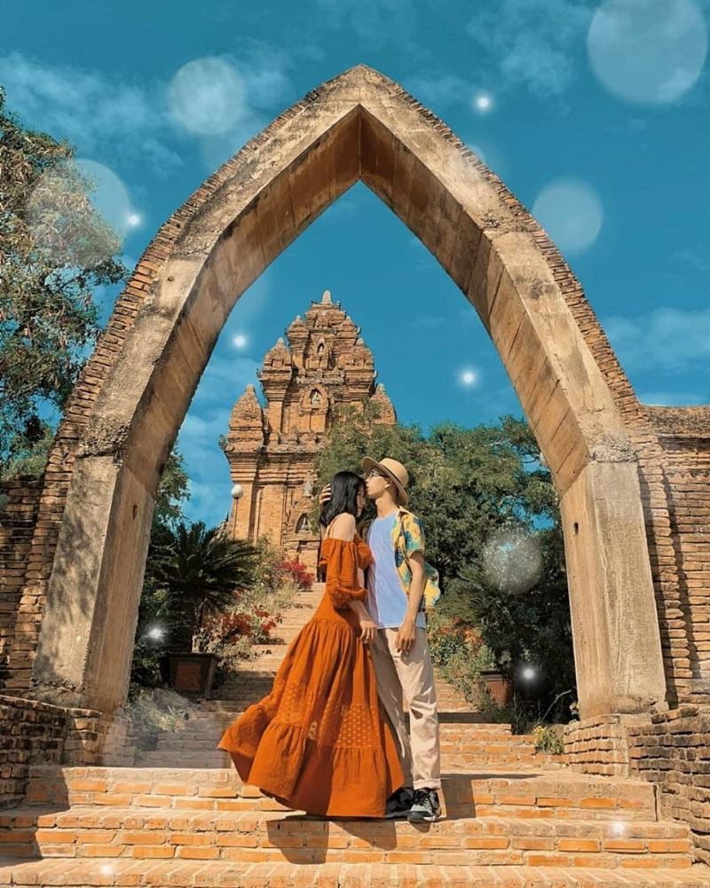 Check in tại tháp Chàm Phan Rang