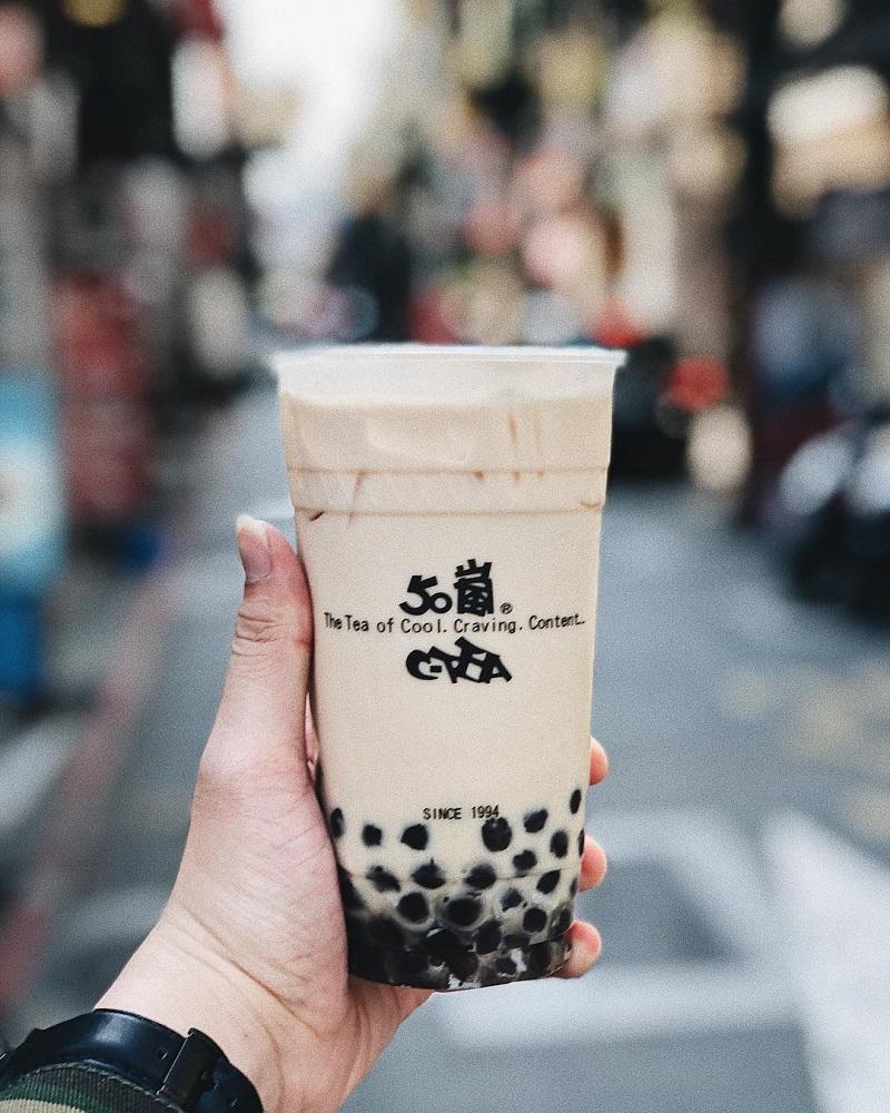 Đặc sản Đài Loan - trà sữa Đài Loan