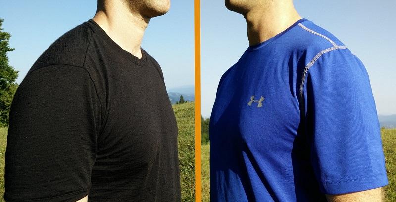 Áo thể thao chất liệu Polyester