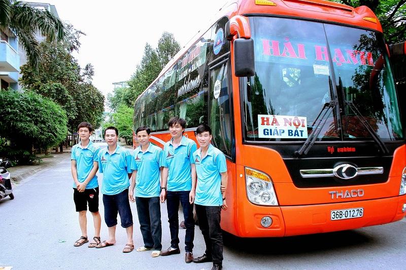 Xe khách Hải Hạnh chạy tuyến Hà Nội - Sầm Sơn