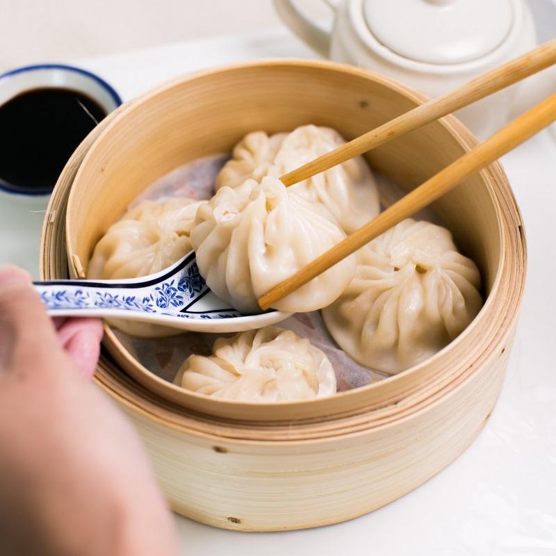 Món Tiểu Lung Bao nổi tiếng của Đà Loan