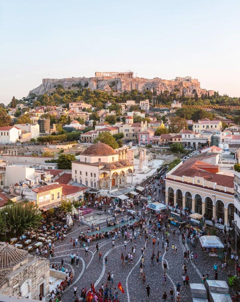 Thành phố Athens Hy Lạp