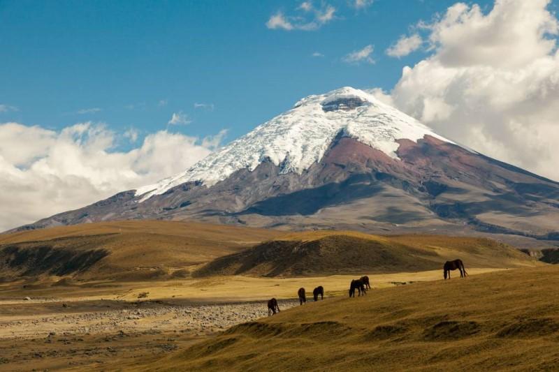 Các ngôi làng trên vùng cao tại Ecuador