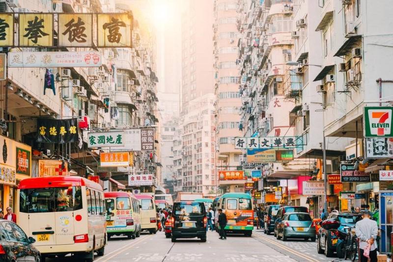 Thành phố sầm uất tại Hongkong
