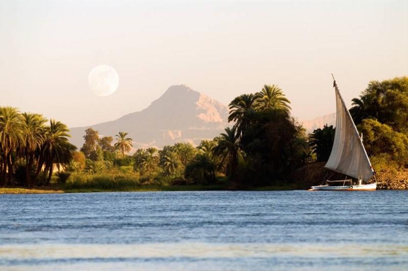Dòng sông Nile tại Ai Cập