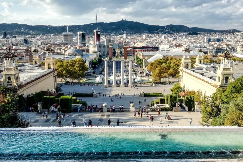 Thành phố Barcelona Tây Ban Nha