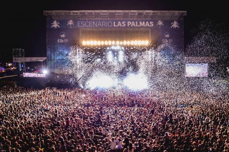 Đại nhạc hội tại thành phố Benicassim Tây Ban Nha