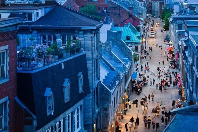 Con phố nhỏ tại Canada