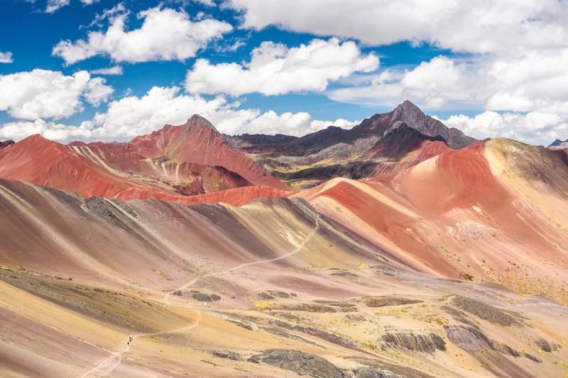 Những đỉnh núi ngoạn mục của dãy Andes tại Peru