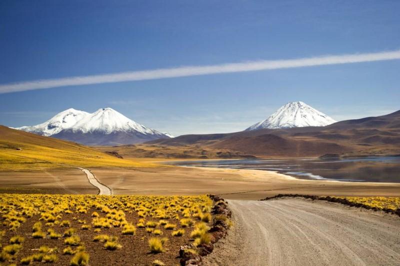 Sa mạc Atacama nơi khô cằn nhất của khu vực Nam Mỹ