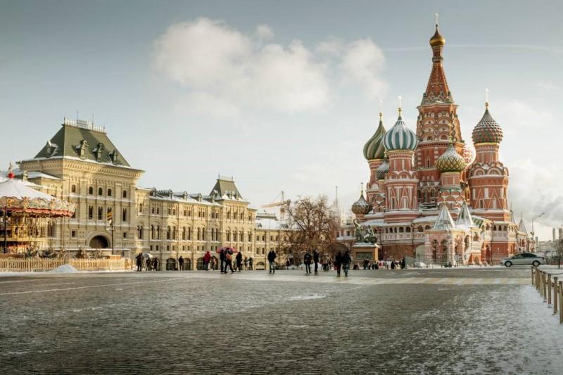 Quảng trường thành phố Moscow Nga