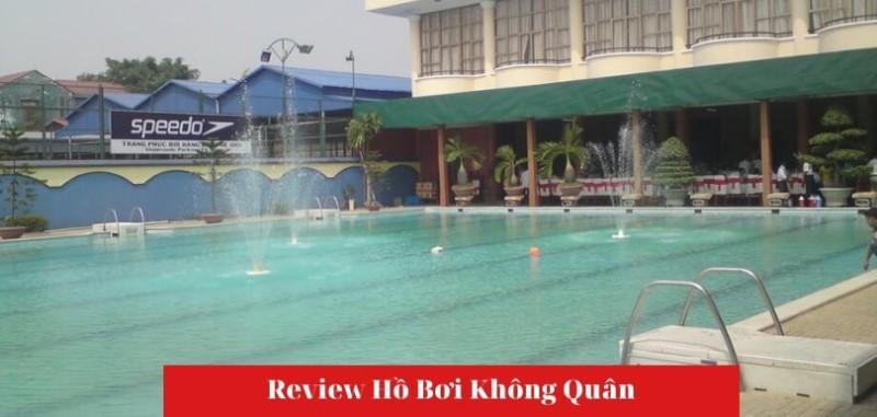 Không gian hồ bơi Không Quân quận Tân Bình