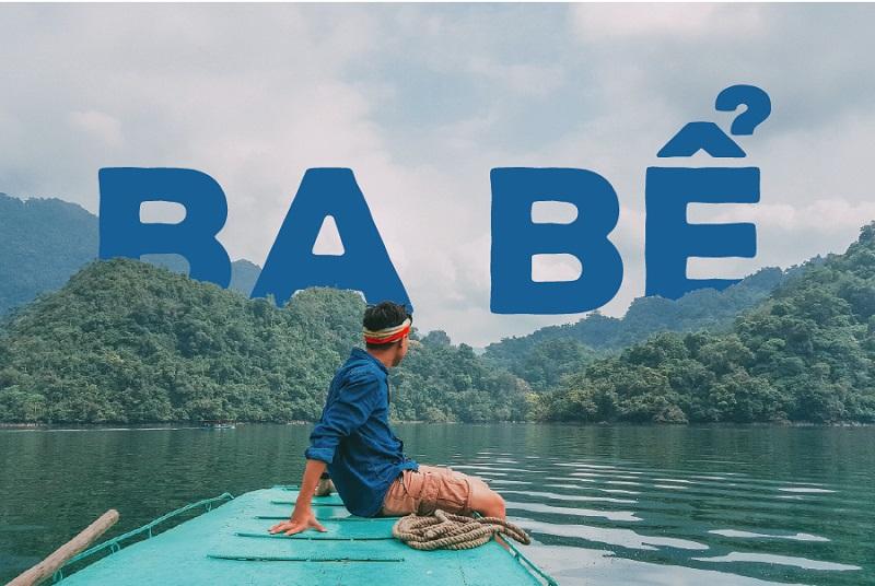Đi thuyền trên hồ Ba Bể Bắc Kan