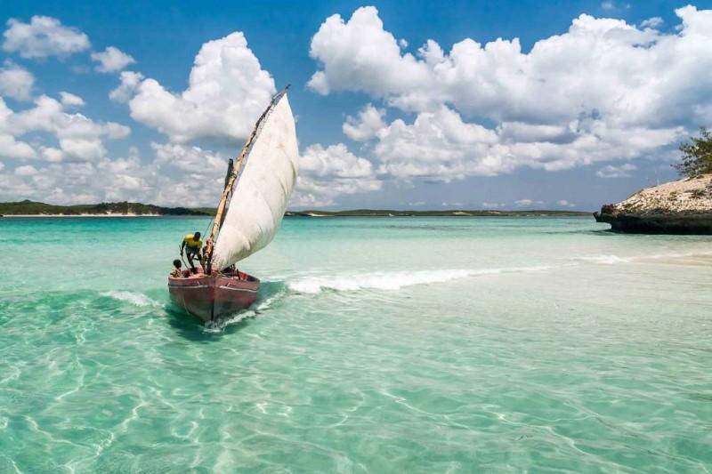 Bãi biển tại Madagascar